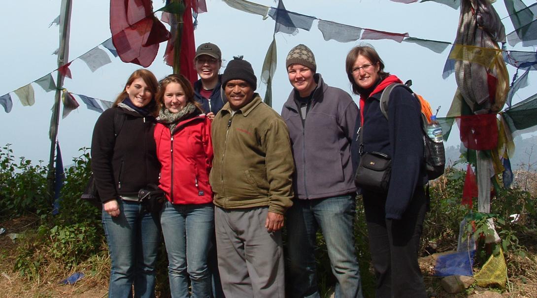 Gezondheidszorgproject in Nepal door Anne Mieke T